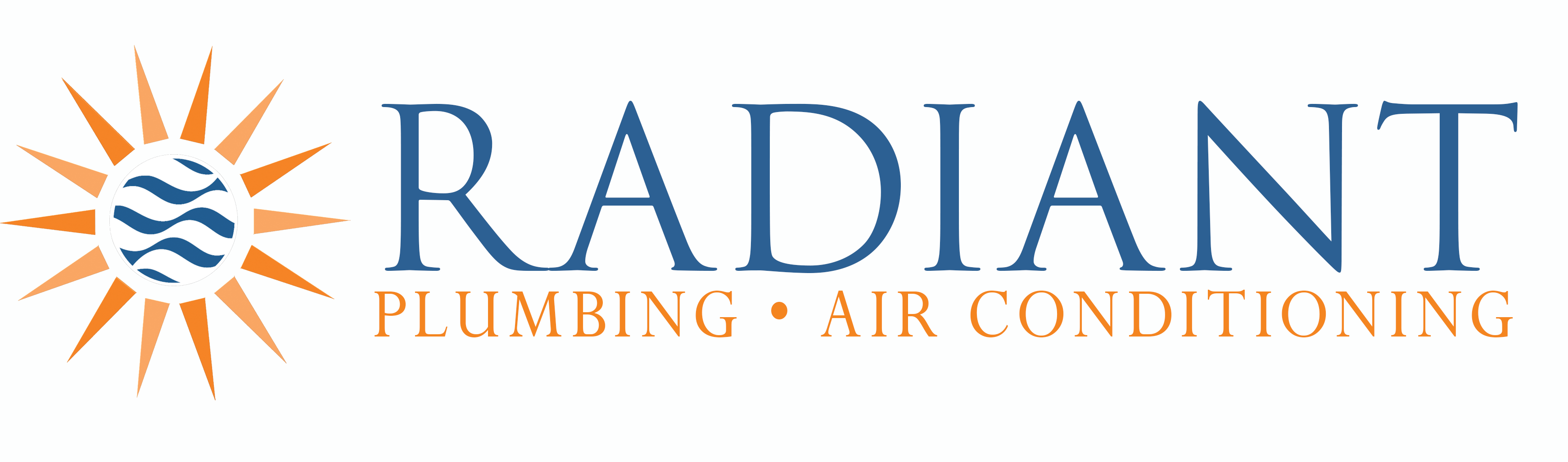 Radiant Plumbing & Air Conditioning Logo